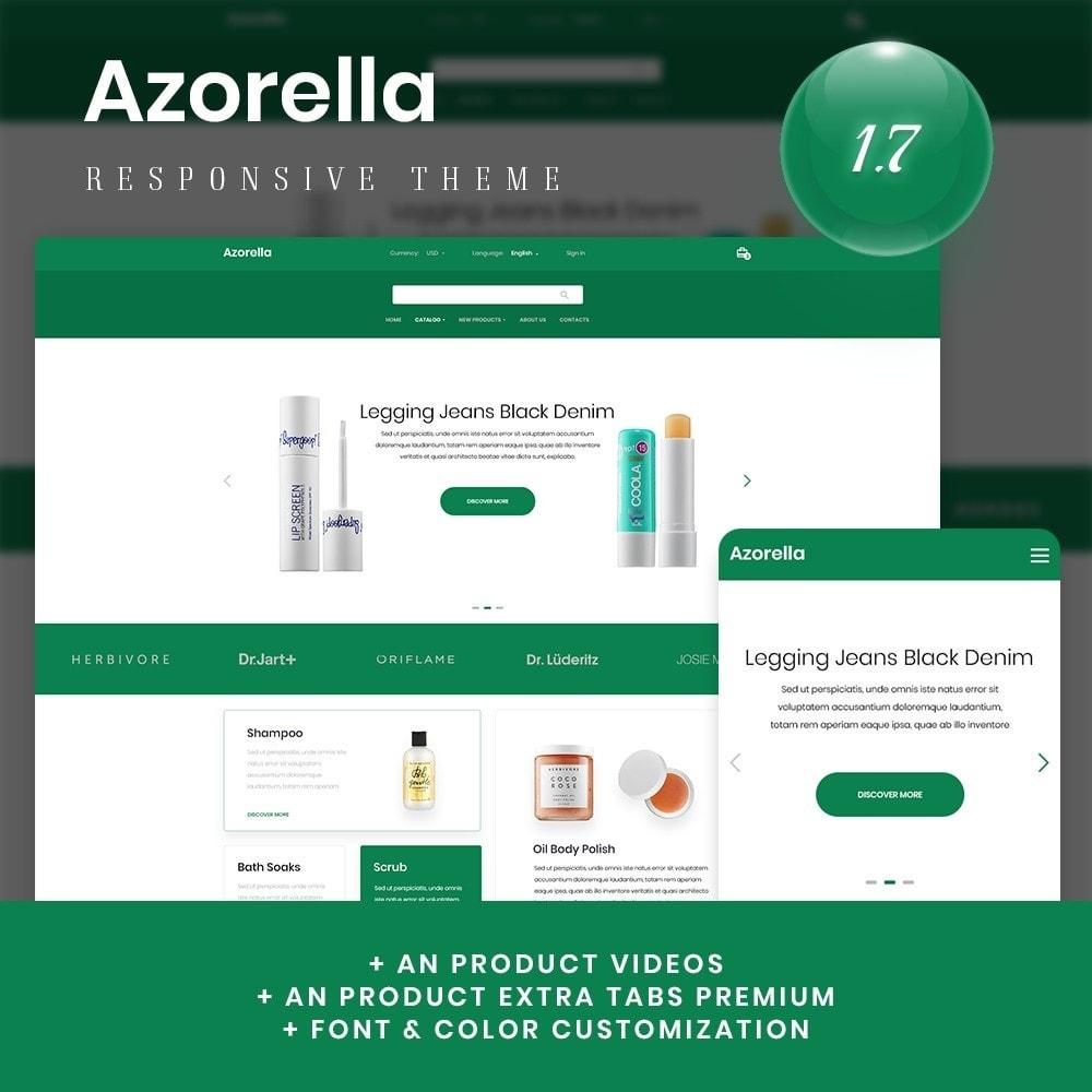 theme - Health & Beauty - Azorella Cosmetics - 1
