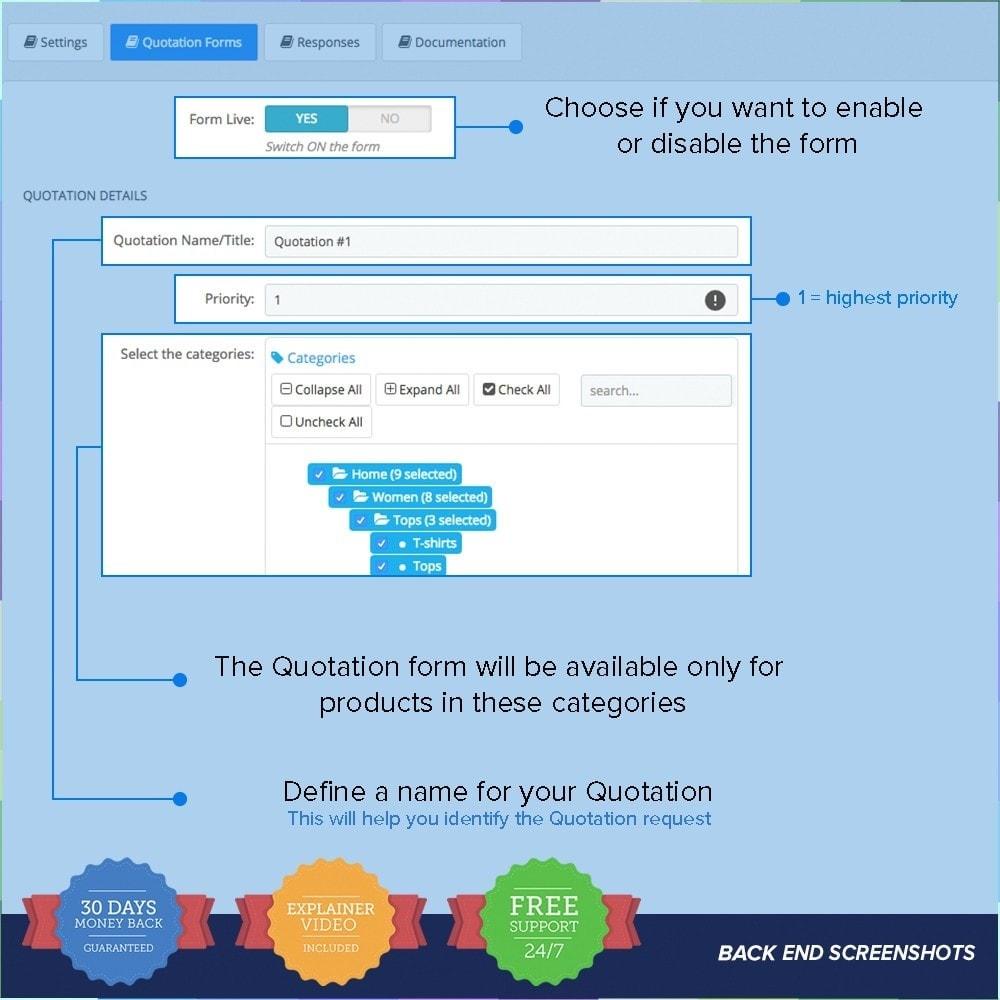 module - Presupuestos - Cotización en línea - 2