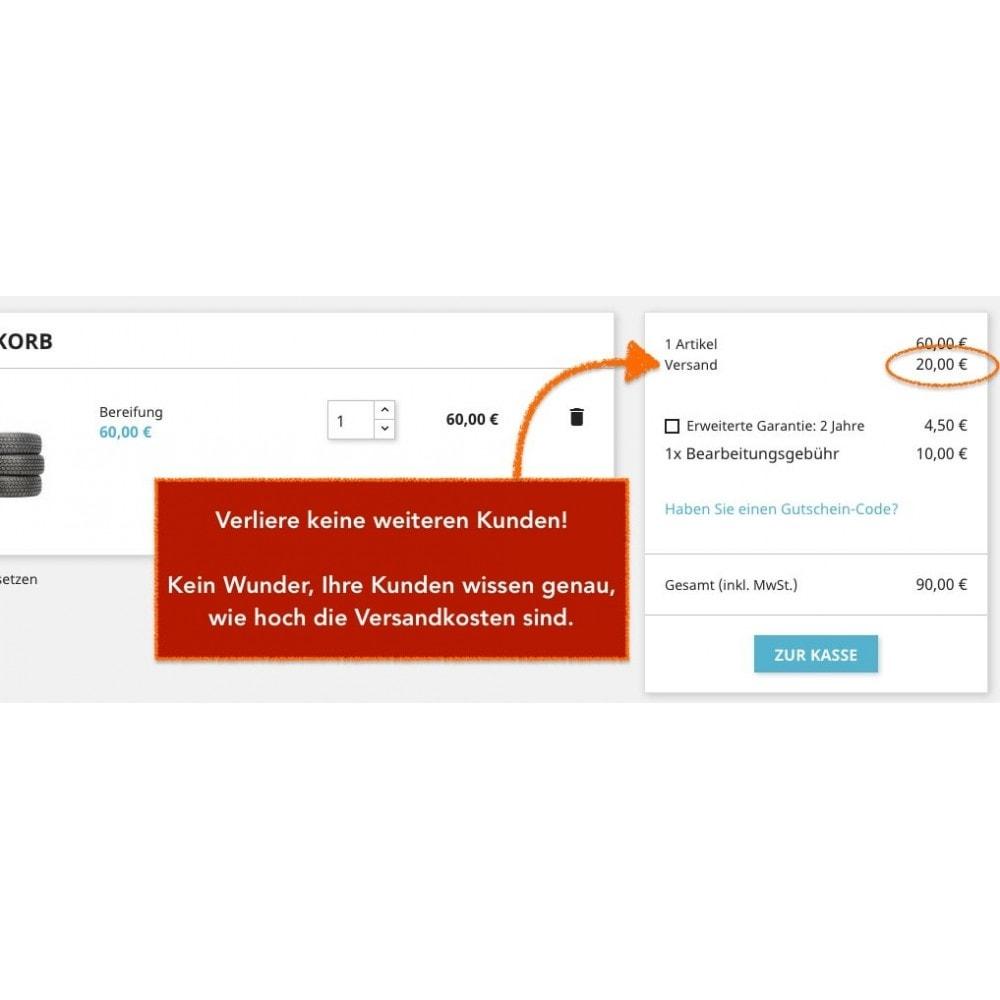 module - Versandkosten - Lieferadresse - Wählen Sie die Lieferadresse - 4