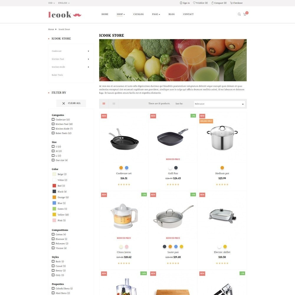 theme - Продовольствие и рестораны - Leo Icook - 5