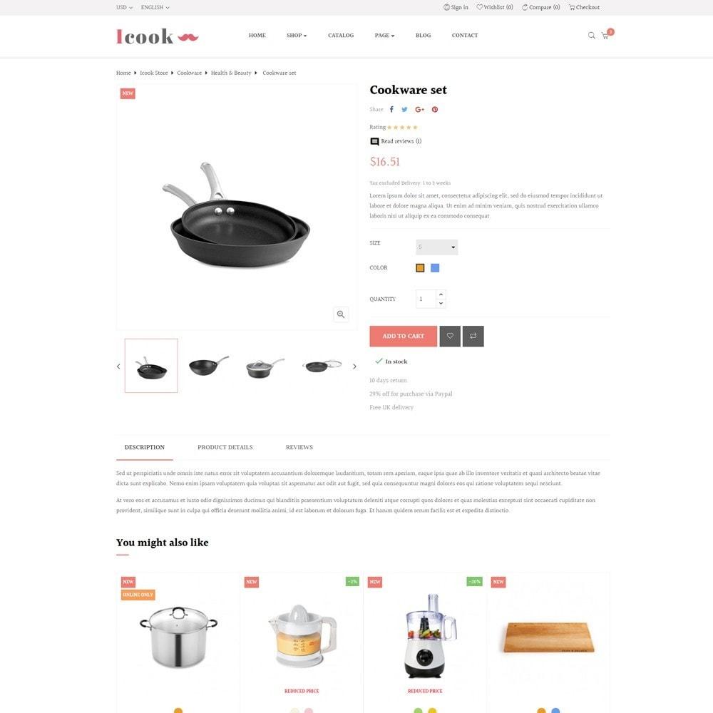 theme - Продовольствие и рестораны - Leo Icook - 7