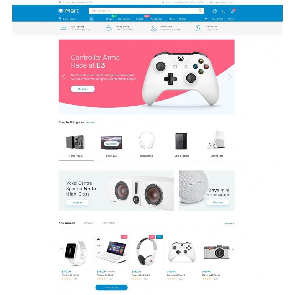 theme - Elettronica & High Tech - iMart Electronic Store - 2
