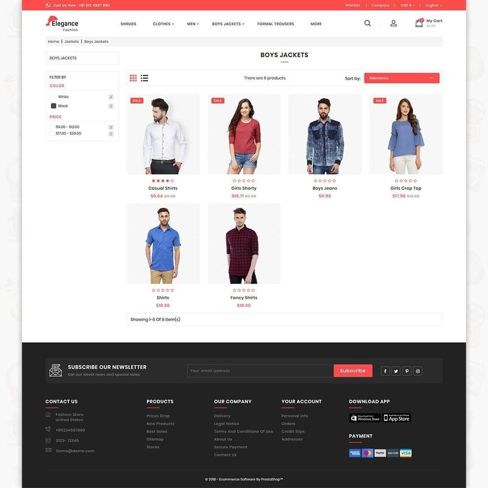 theme - Fashion & Shoes - Elegance The Fashion Store - 3