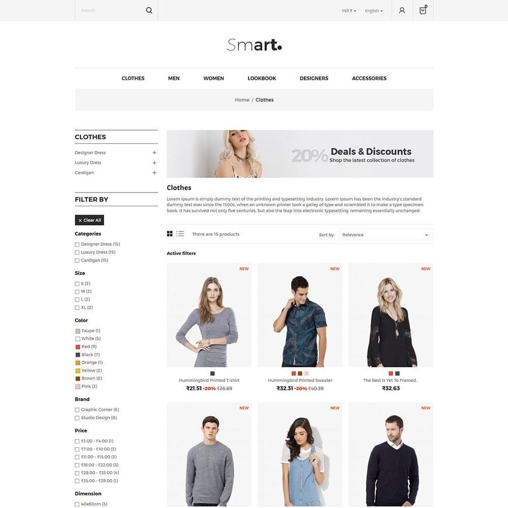 theme - Fashion & Shoes - Smart - Fashion Store - 3