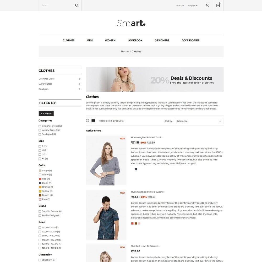 theme - Fashion & Shoes - Smart - Fashion Store - 4