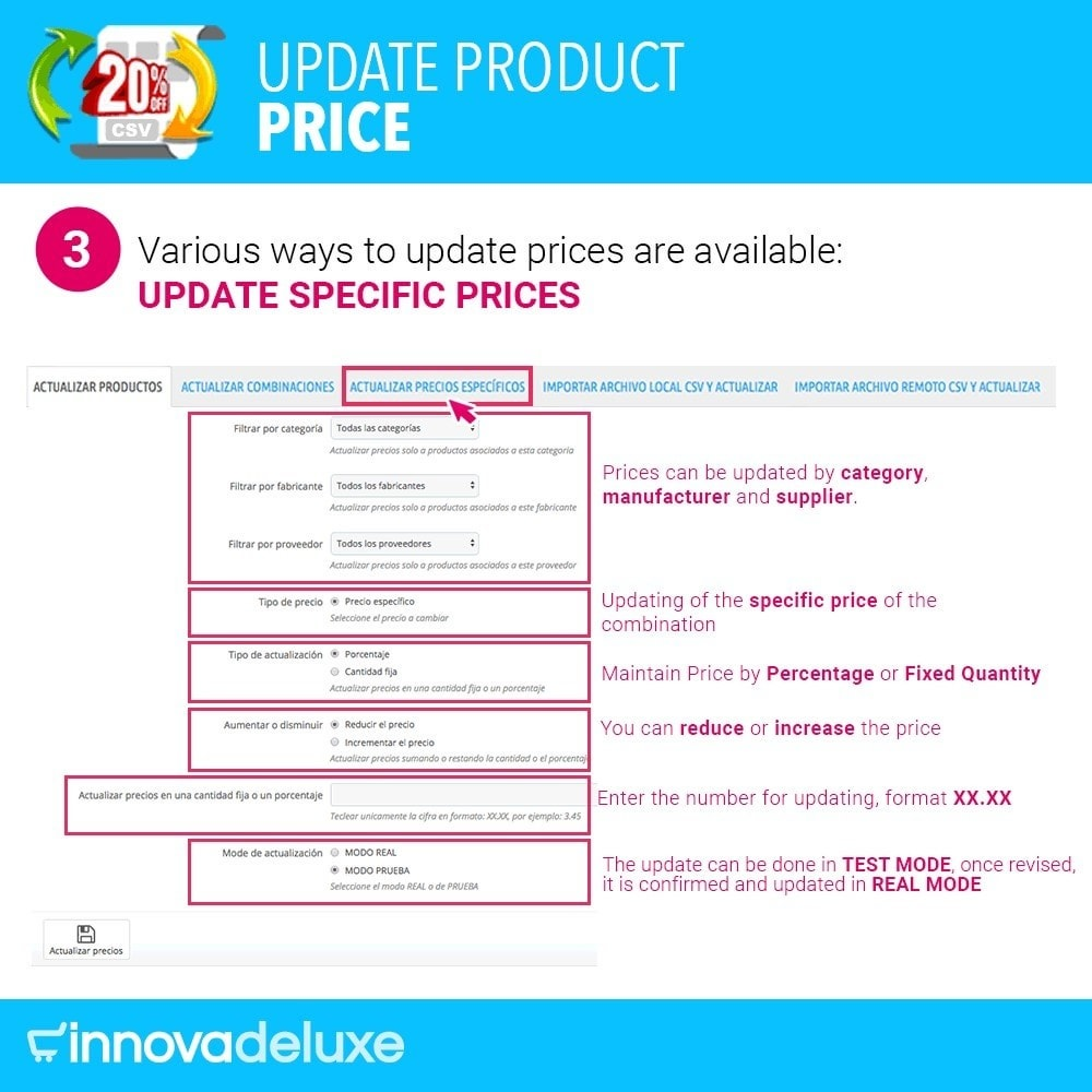 module - Fast & Mass Update - Product Price Updater - 4