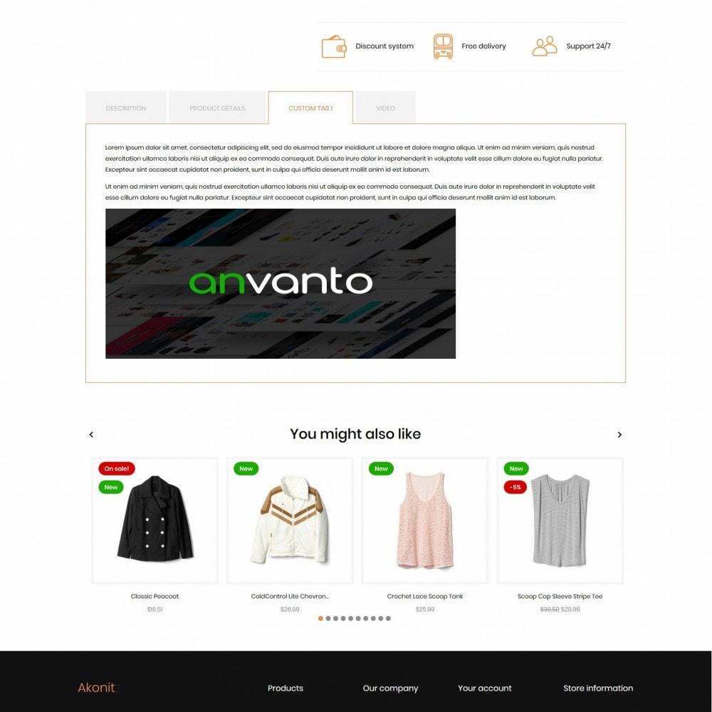 theme - Fashion & Shoes - Akonit Fashion Store - 8