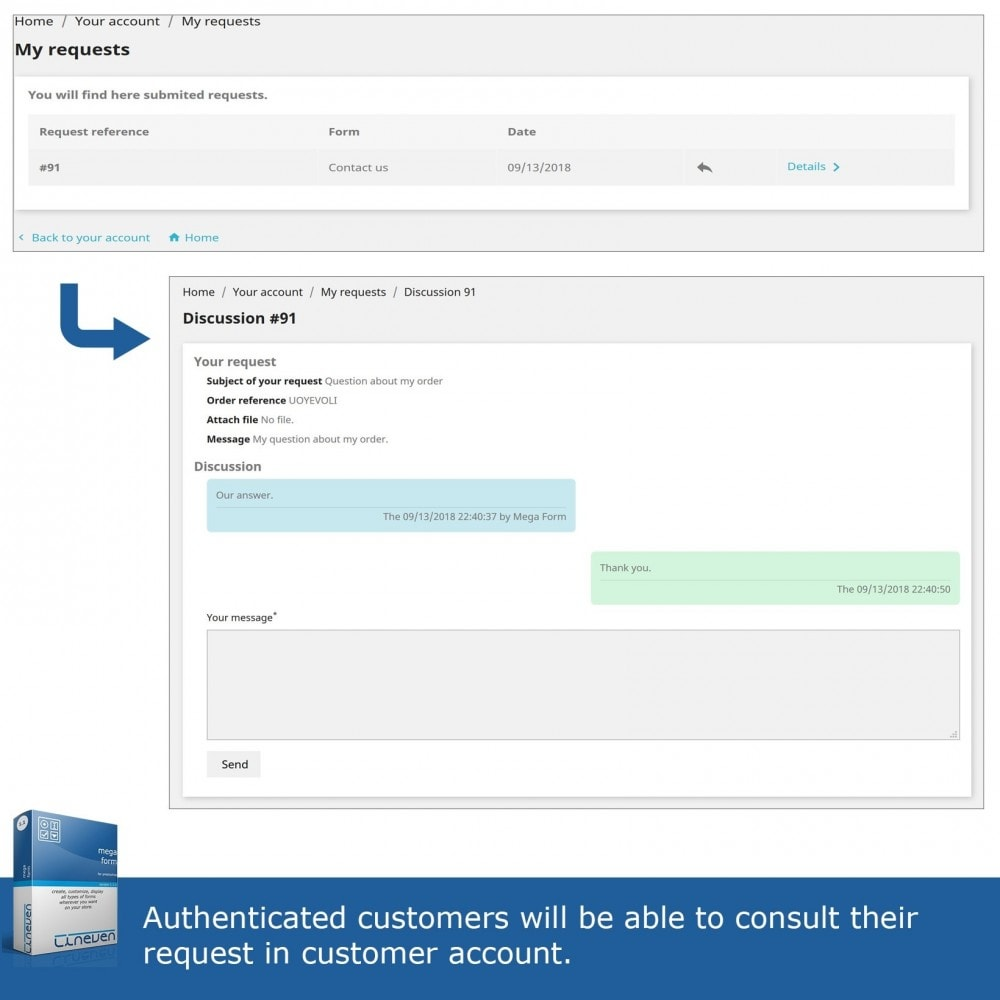 module - Форма обратной связи и Опросы - Forms builder - Customizable & Threads - 8