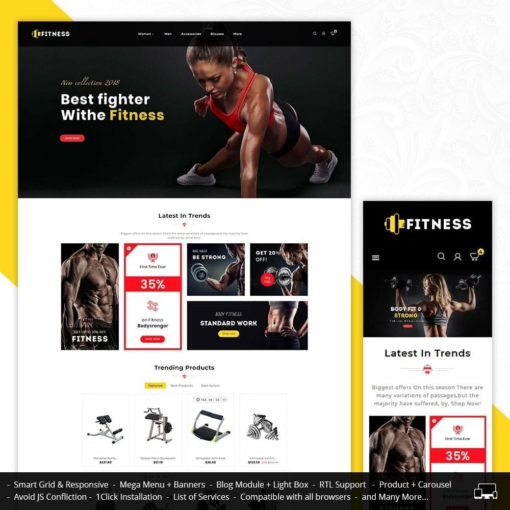 theme - Deportes, Actividades y Viajes - Fitness Center - 1