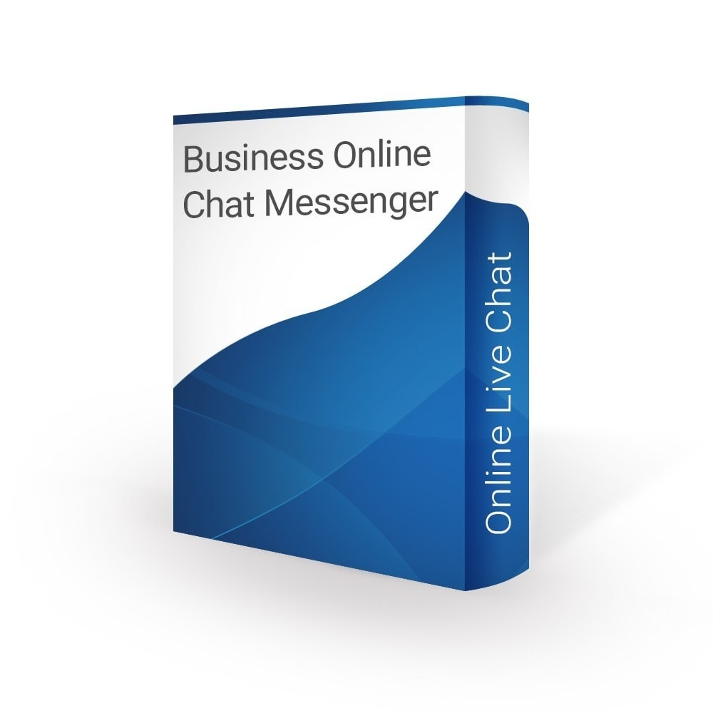 module - Asistencia & Chat online - Business Online Live Chat Support Messenger - 1