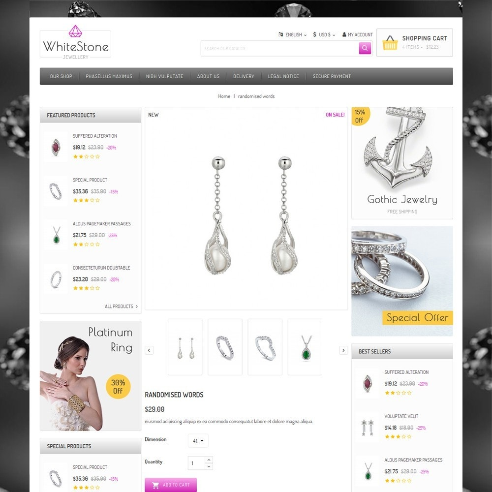 theme - Jewelry & Accessories - Whitestone  - The Jewelry Shop - 6