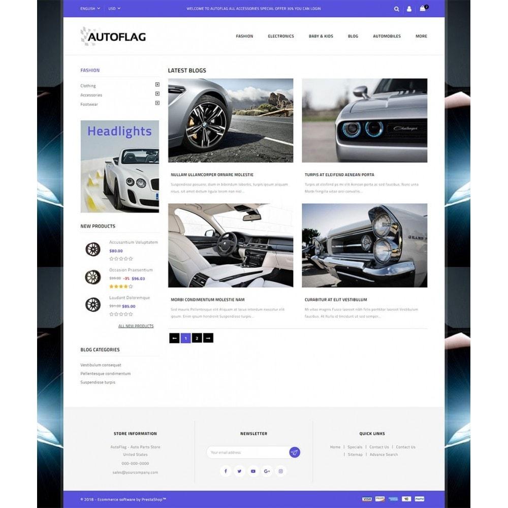 theme - Coches y Motos - AutoFlag Store - 9