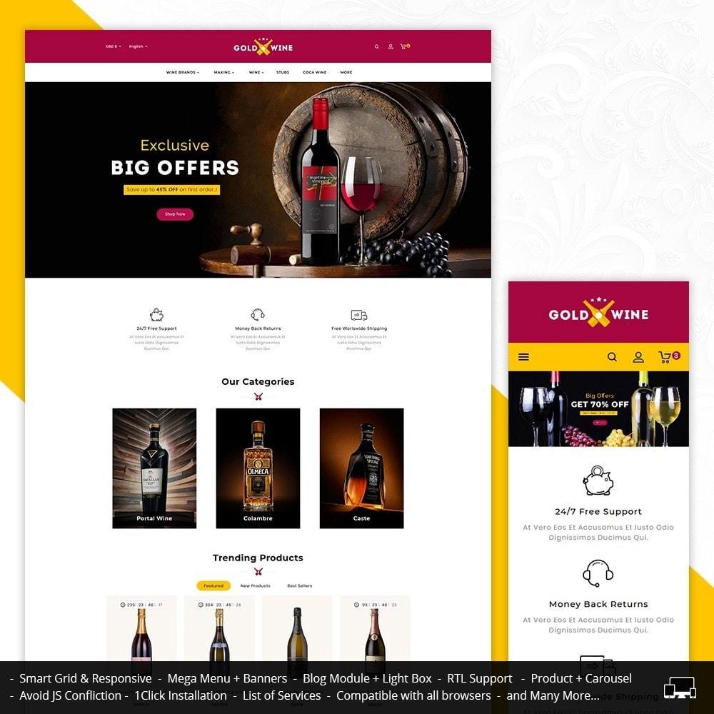 theme - Napoje & Wyroby tytoniowe - Gold Wine Store - 1