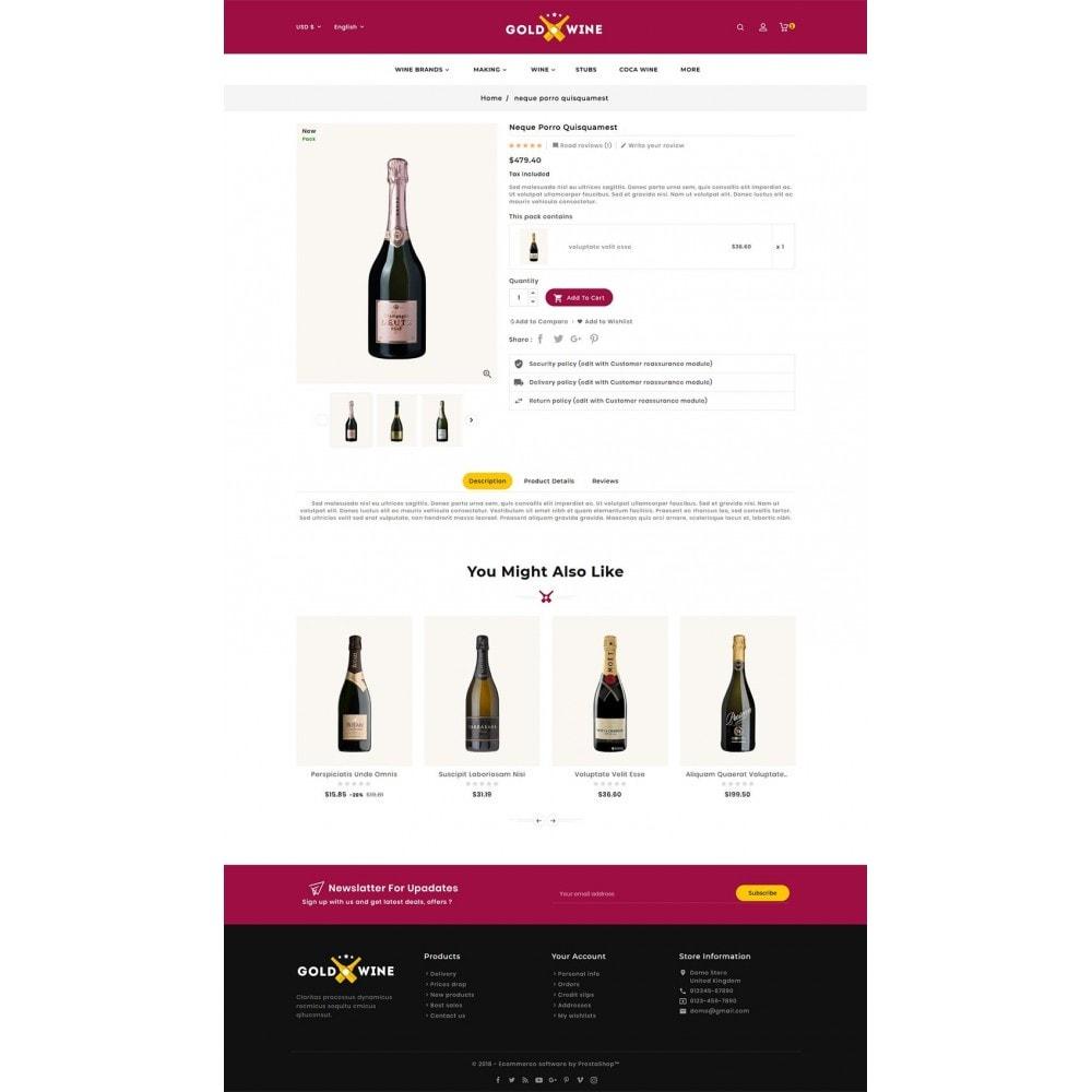 theme - Napoje & Wyroby tytoniowe - Gold Wine Store - 7