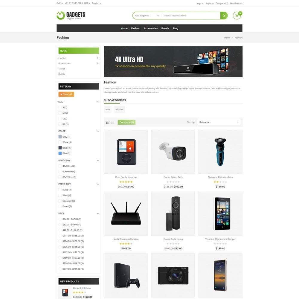 theme - Elektronica & High Tech - Gadgets Digital Store - 3