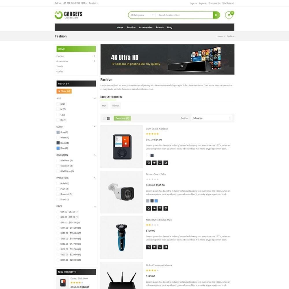 theme - Elektronica & High Tech - Gadgets Digital Store - 4