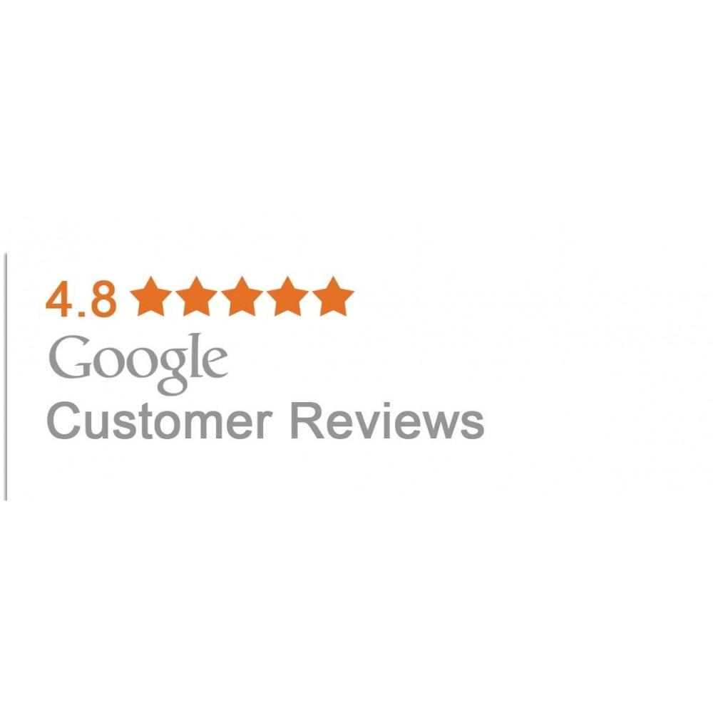 module - Opinie klientów - Google customer reviews - 5