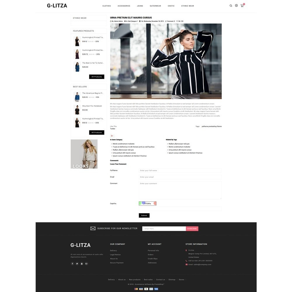 theme - Fashion & Shoes - G-Litza Fashion Store - 6
