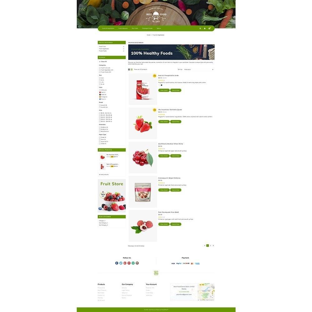 theme - Alimentos & Restaurantes - Best Food Store - 4