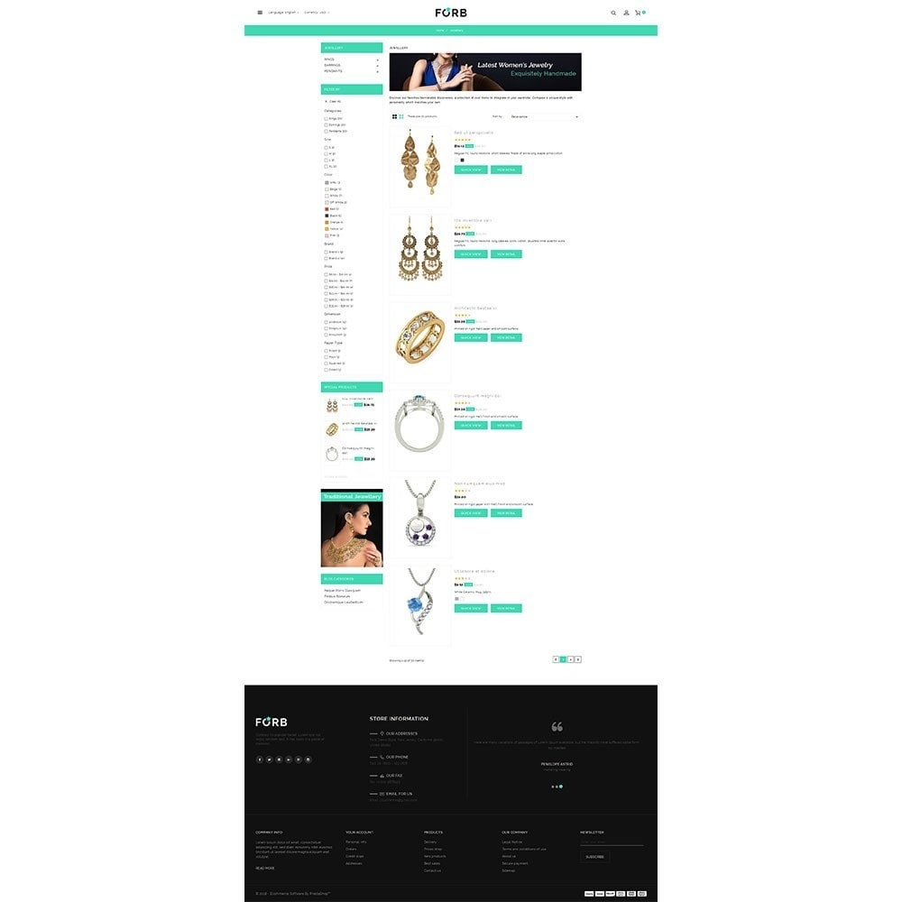 theme - Jewelry & Accessories - Forb Store - 4
