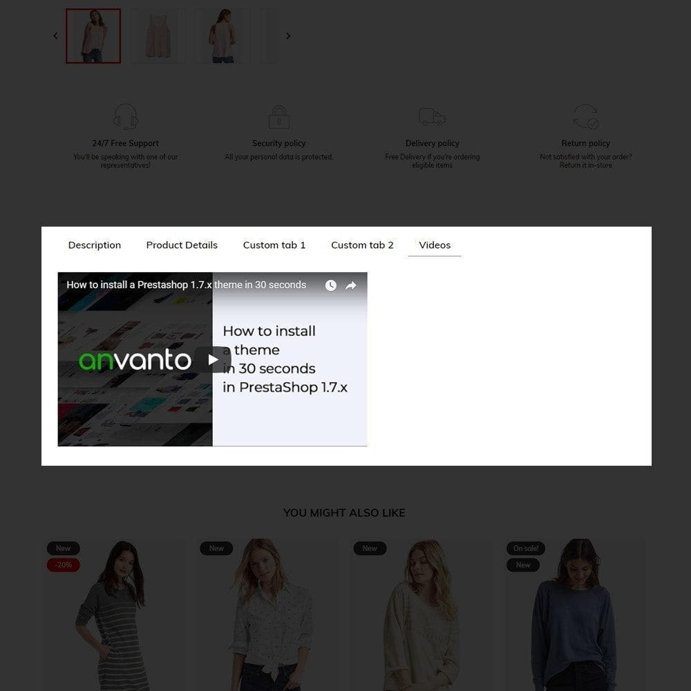 theme - Fashion & Shoes - Outstock Fashion Store - 9
