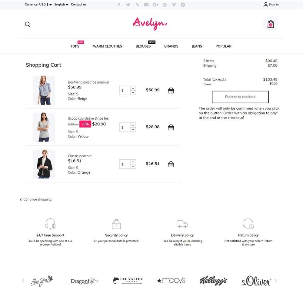 theme - Fashion & Shoes - Avelyn Fashion Store - 7