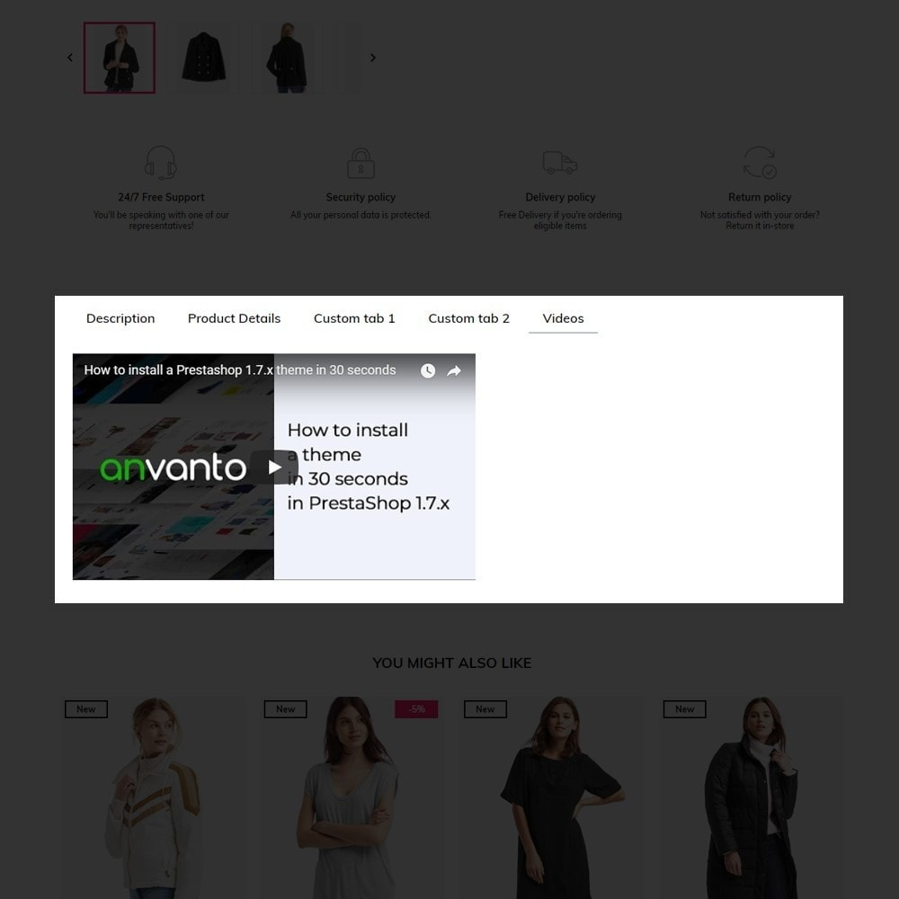 theme - Fashion & Shoes - Avelyn Fashion Store - 9
