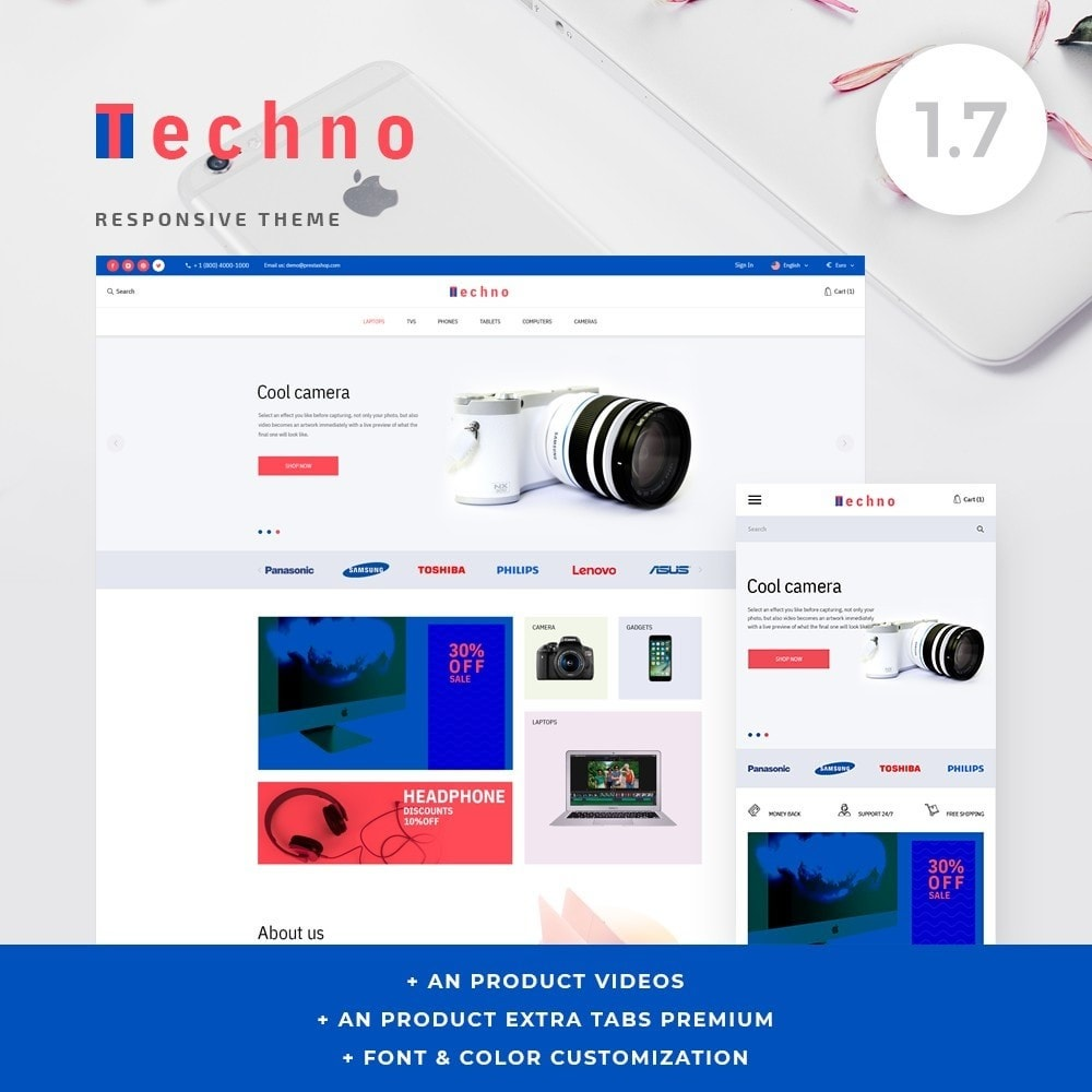 theme - Electronics & Computers - Techno - High-tech Shop - 1