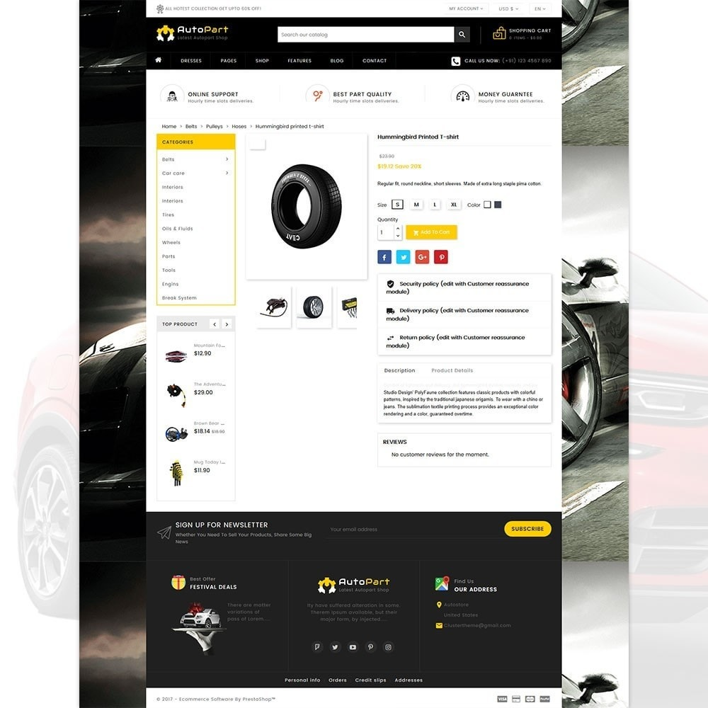 theme - Automotive & Cars - Autopart - Cars & Automotive Store - 5