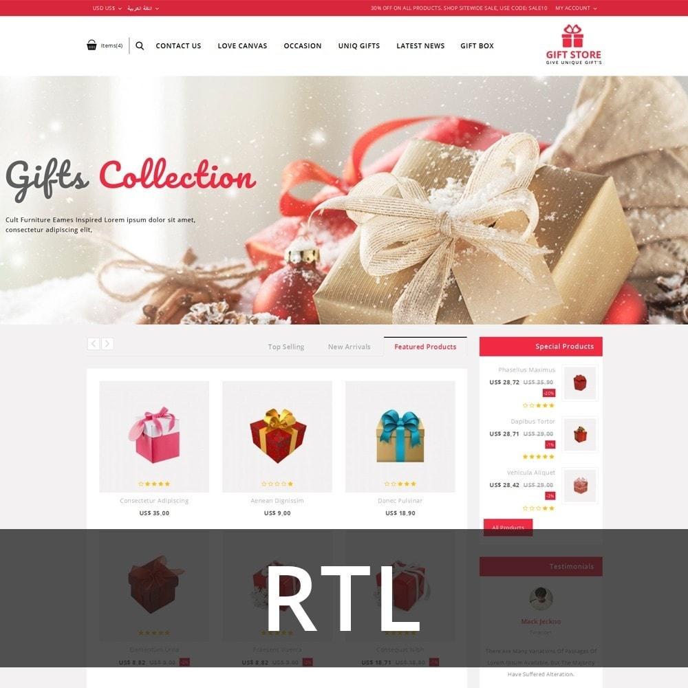 theme - Cadeaux, Fleurs et Fêtes - Giftstore - The Gift Shop - 3