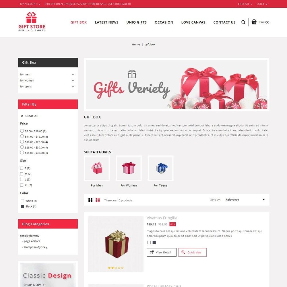 theme - Cadeaux, Fleurs et Fêtes - Giftstore - The Gift Shop - 5