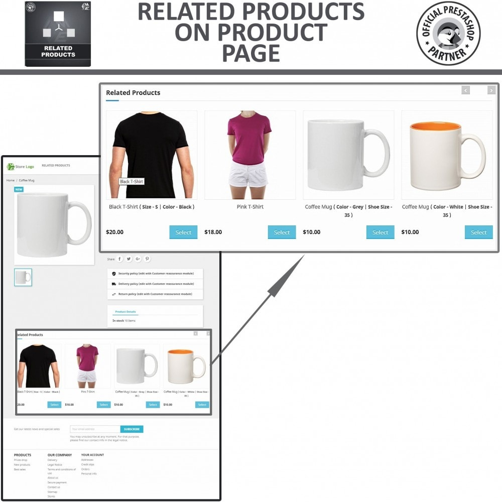 module - Cross-selling & Product Bundles - Related Products, Responsive Similar Products Carousel - 3