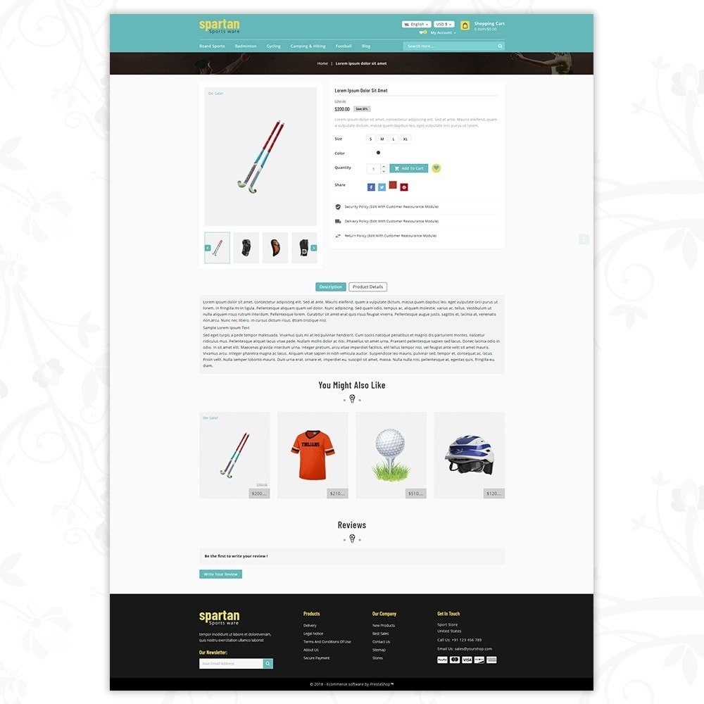 theme - Sport, Loisirs & Voyage - Spartan Sports Store - 5