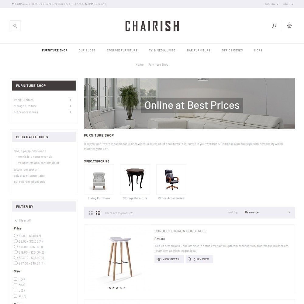 theme - Home & Garden - Chairish - The Furniture Store - 5