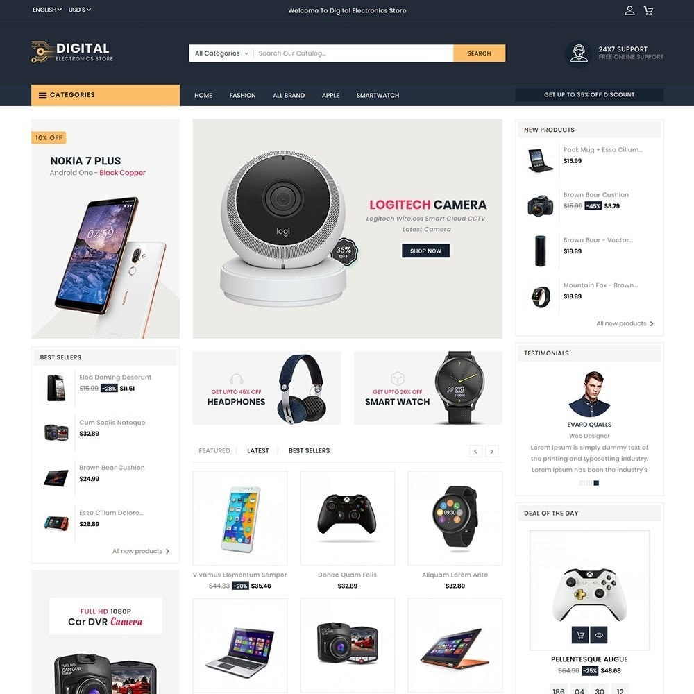 theme - Elektronika & High Tech - Digital Electronics Store - 2