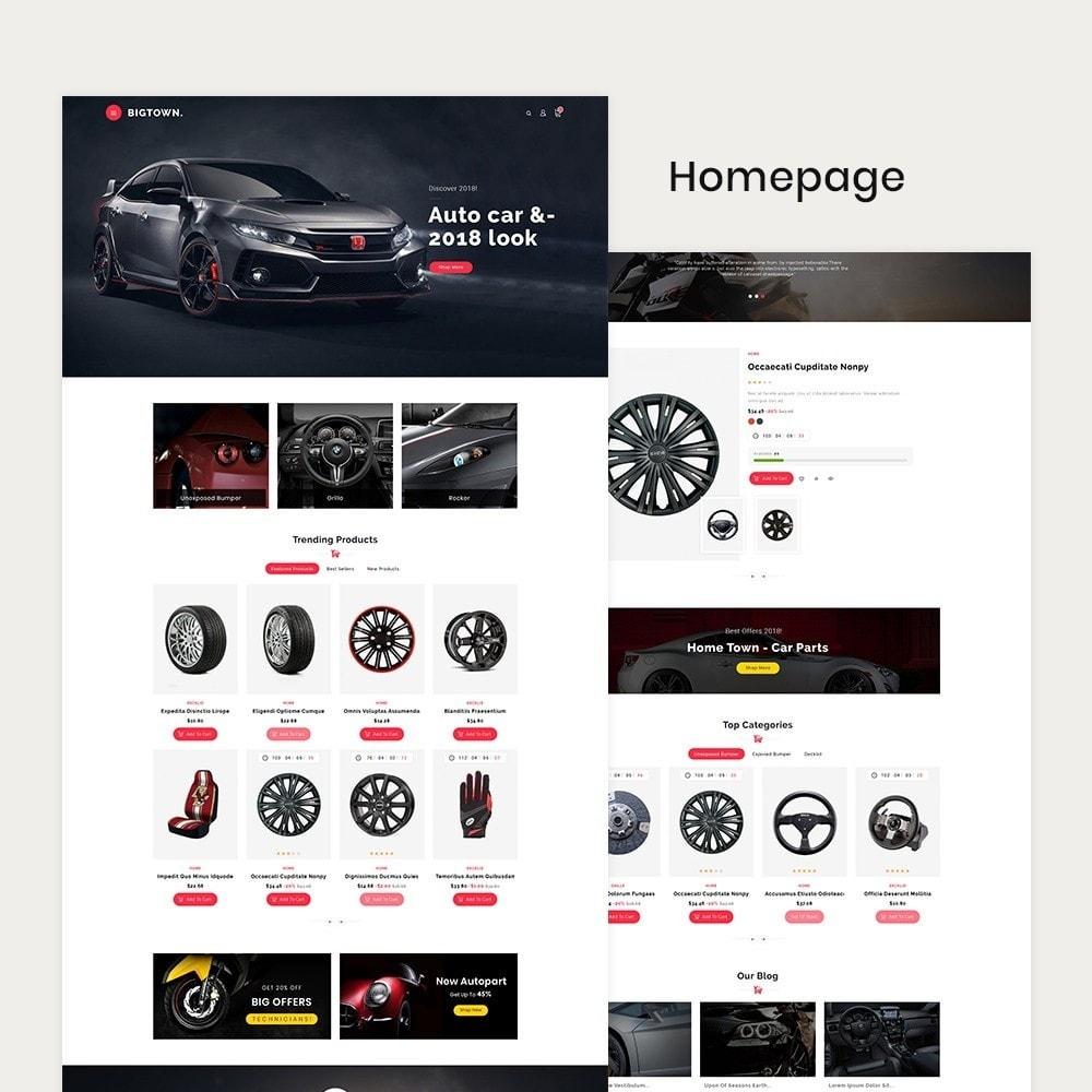 theme - Automotive & Cars - BigTown Auto Parts - 2