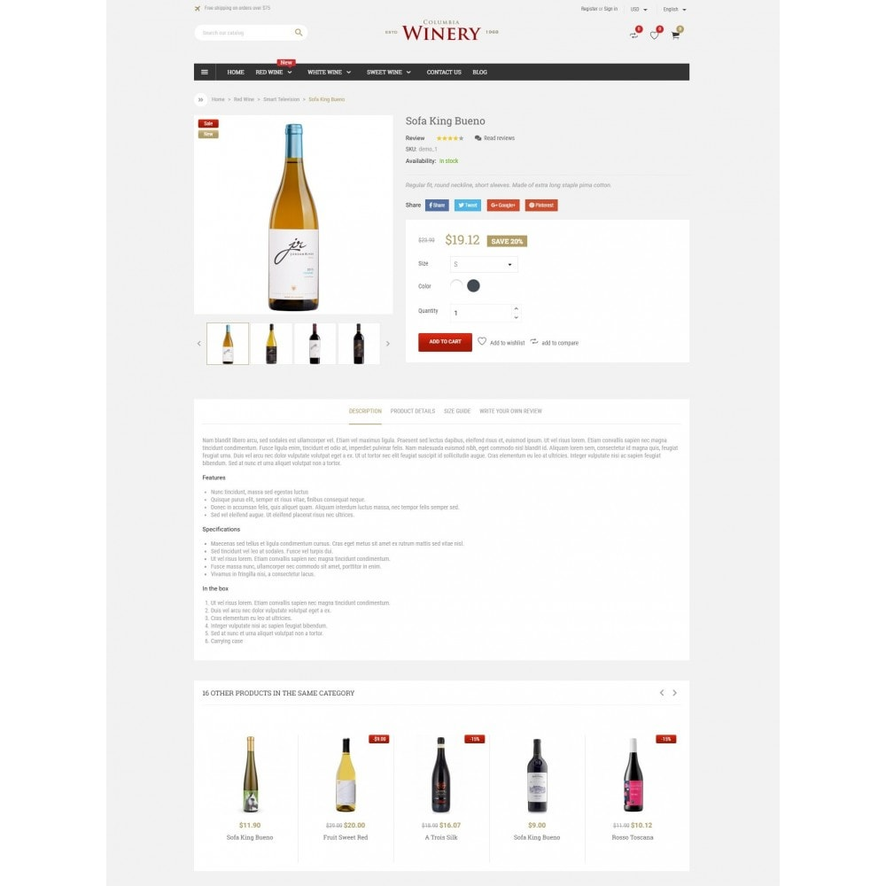 theme - Drank & Tabak - Winery Store - 4