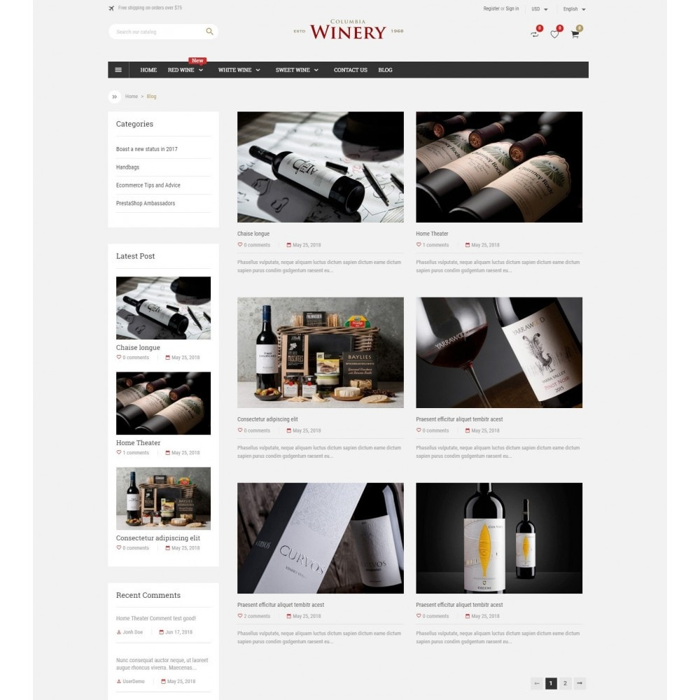 theme - Boissons & Tabac - Winery Store - 5