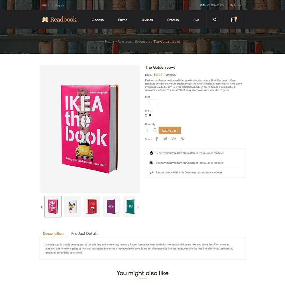 theme - Arte e Cultura - Readbook - Book Store - 3