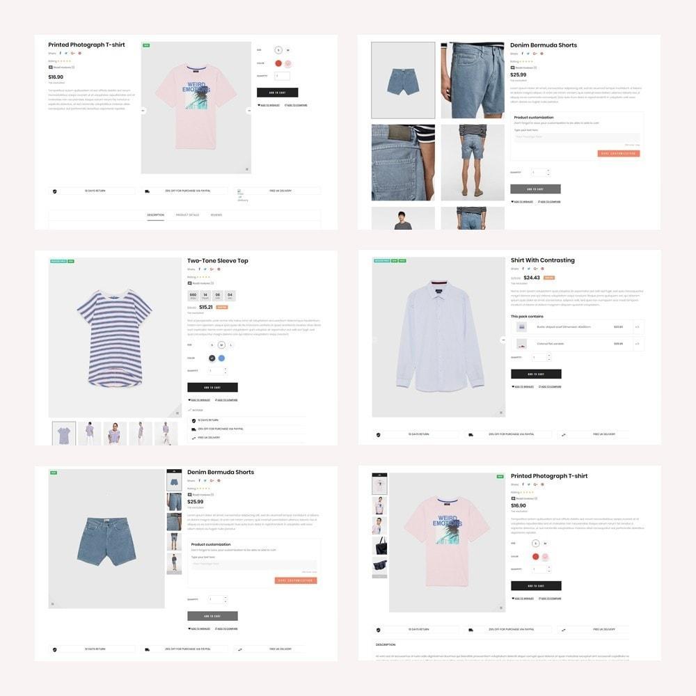 theme - Fashion & Shoes - LEO UNI CO UNISEX FASHION STORE - 7