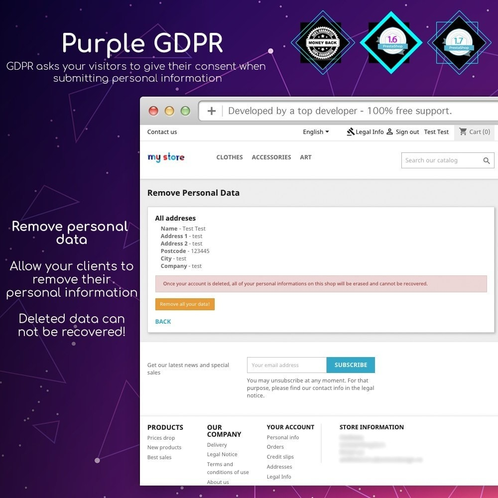 module - Marco Legal (Ley Europea) - Purple GDPR - 11