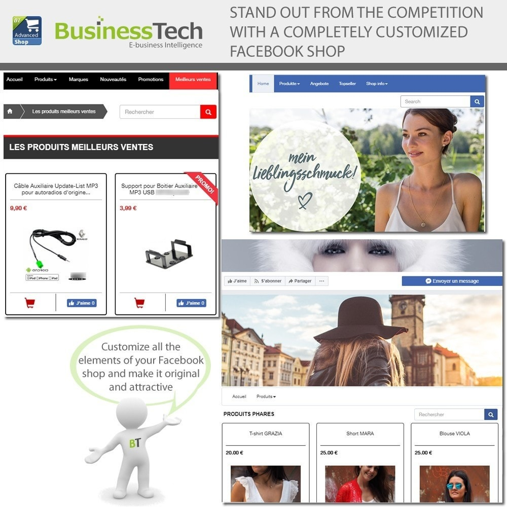 bundle - Social Widgets - Social BusinessTech Bundle - 3