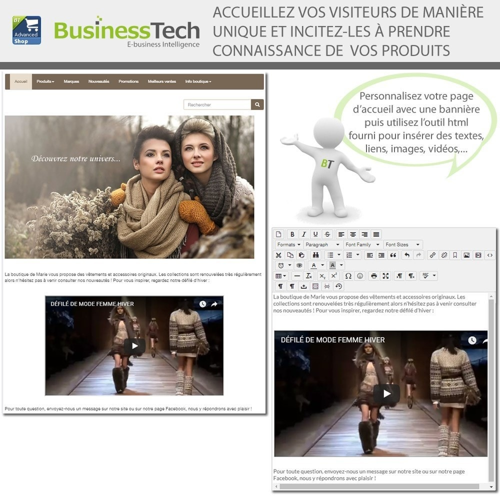 module - Produits sur Facebook & réseaux sociaux - Advanced Shop for Fan Page - 7