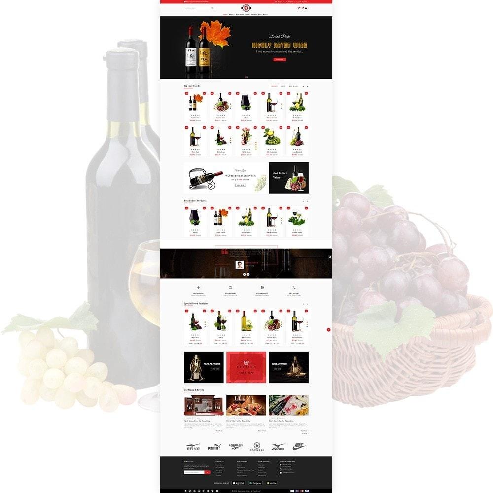 theme - Bebidas & Tabaco - Red Wine Natural Wine Shop - 3