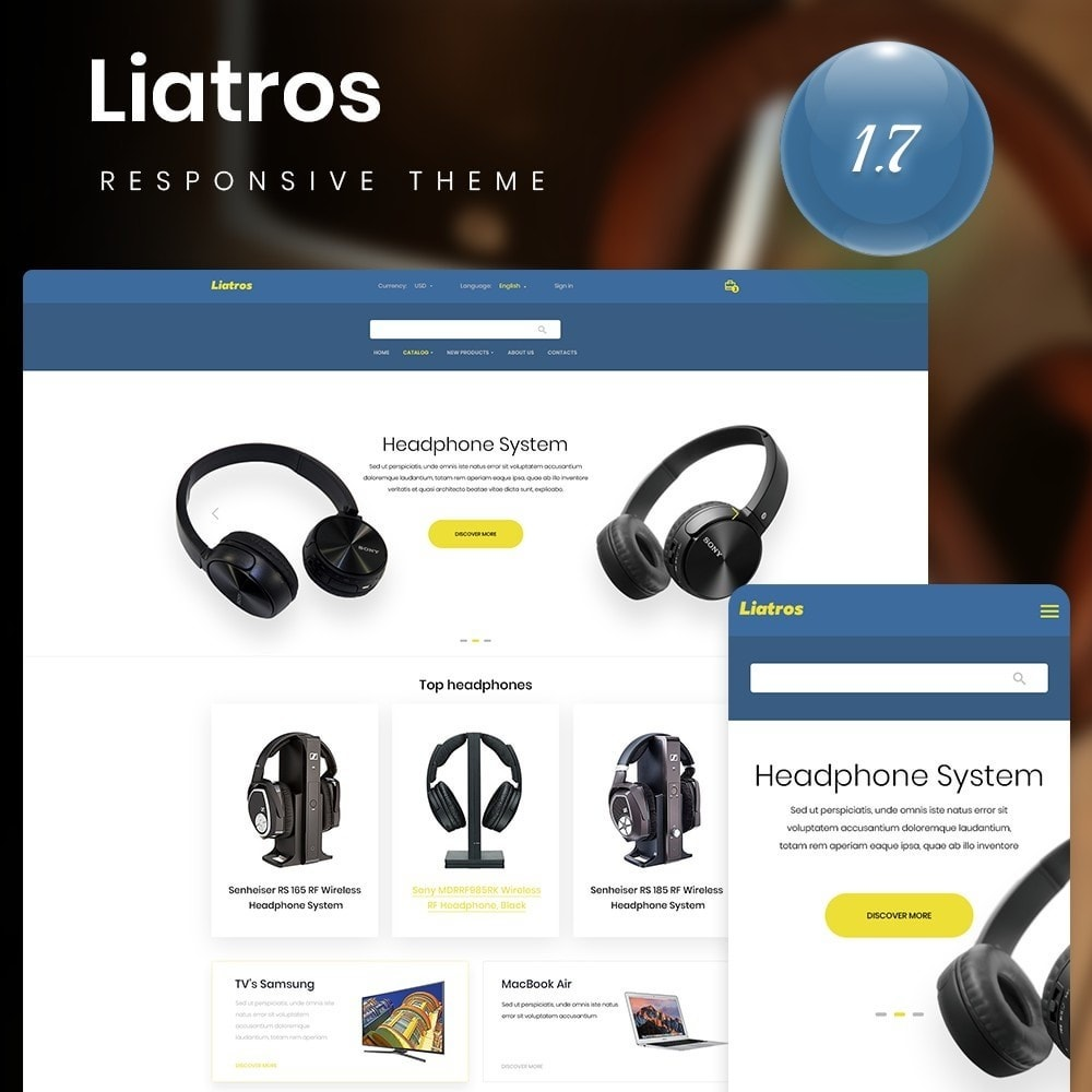 theme - Electronics & Computers - Liatros - High-tech Shop - 1