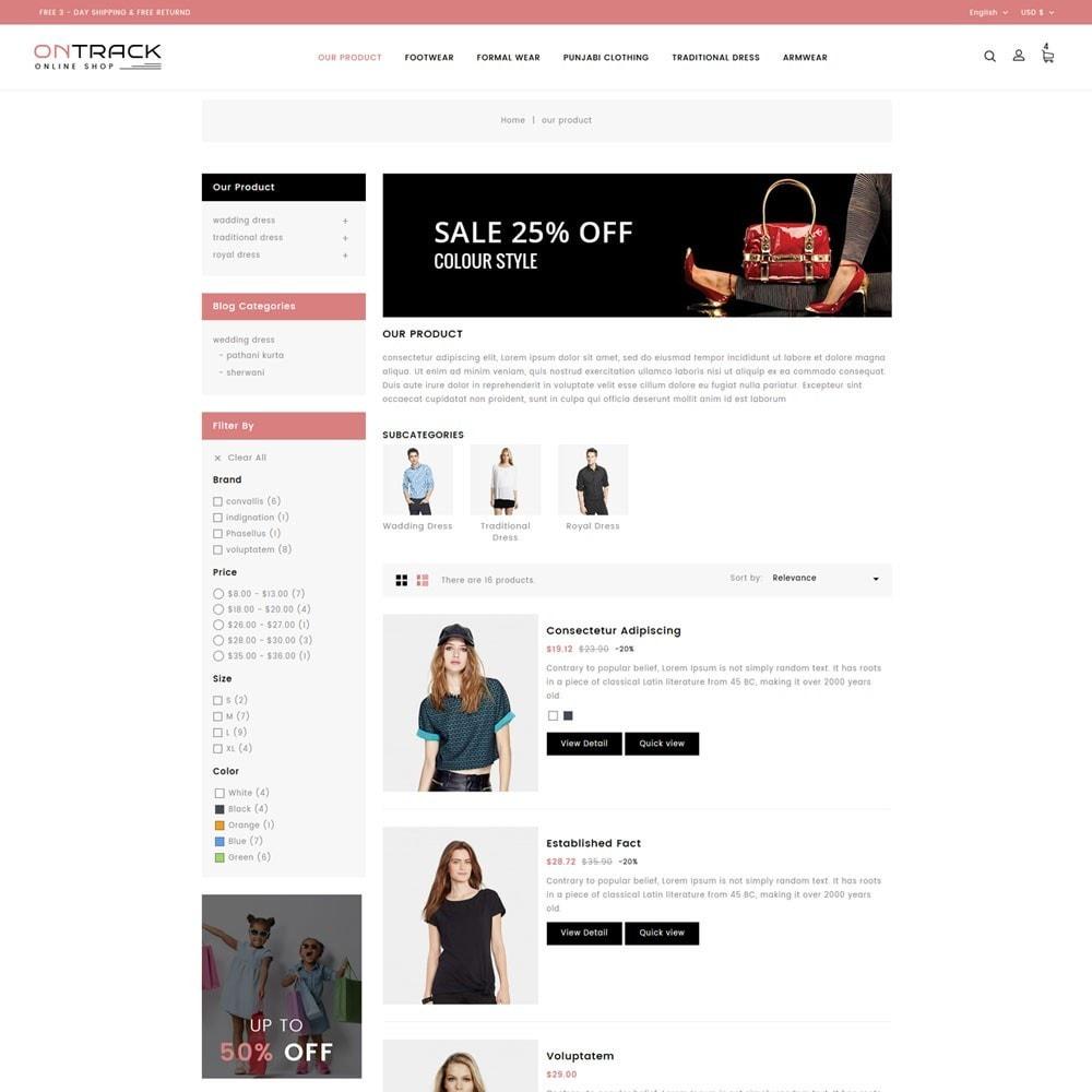 theme - Fashion & Shoes - OnTrackFashion - The fashion Hub - 5