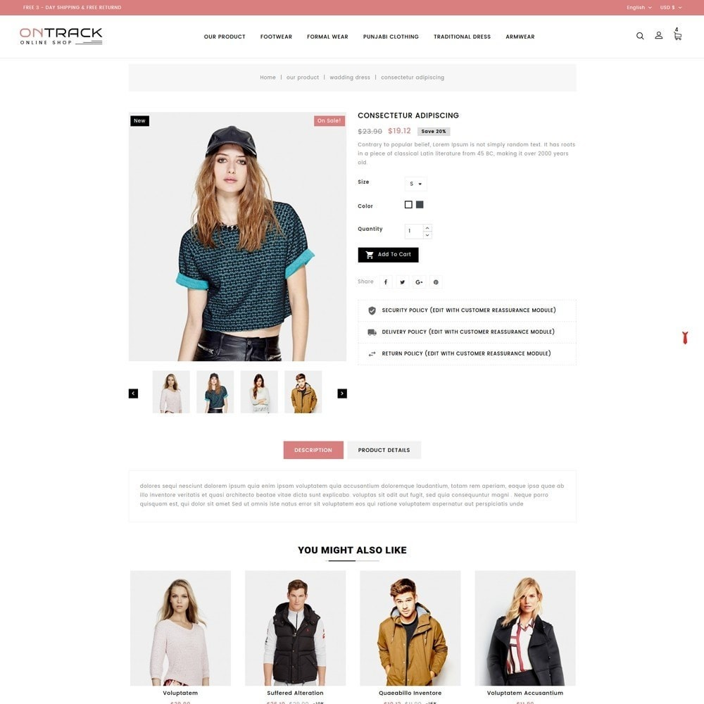 theme - Fashion & Shoes - OnTrackFashion - The fashion Hub - 6