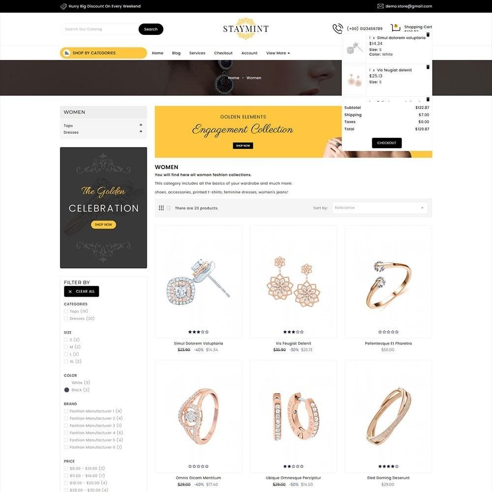 theme - Biżuteria & Akcesoria - Staymint Jewellery Store - 2