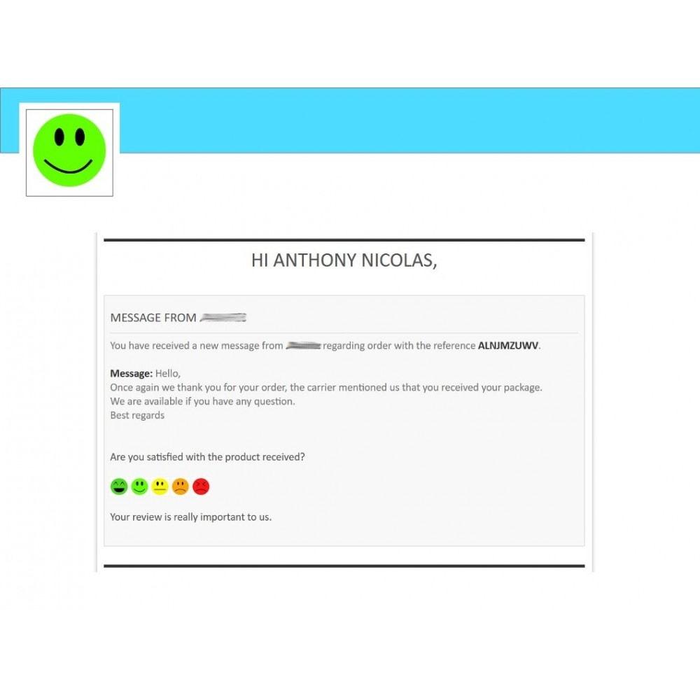 module - Formulario de contacto y Sondeos - Smileys Customer Satisfaction Survey - 1