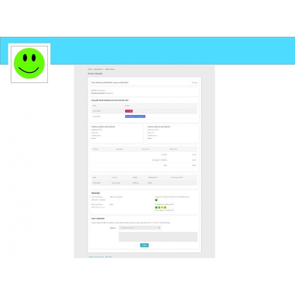 module - Formulario de contacto y Sondeos - Smileys Customer Satisfaction Survey - 2